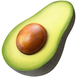 Avocado emojji